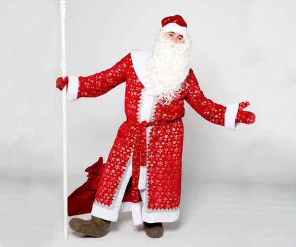 Костюм Деда Мороза Звёздный в Екатеринбурге
