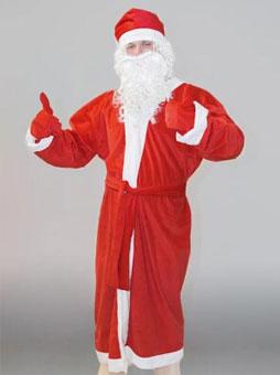Костюм Деда Мороза Простой