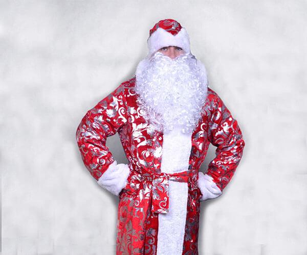Костюм Деда Мороза Блестящий в Екатеринбурге