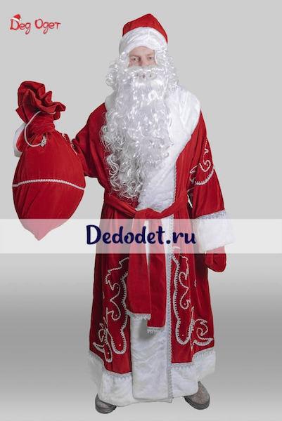 Костюм Деда Мороза Традиционный в Екатеринбурге