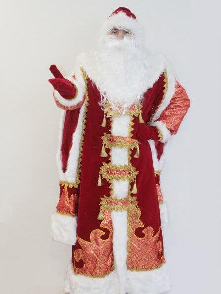 Костюм Деда Мороза Царский в Екатеринбурге